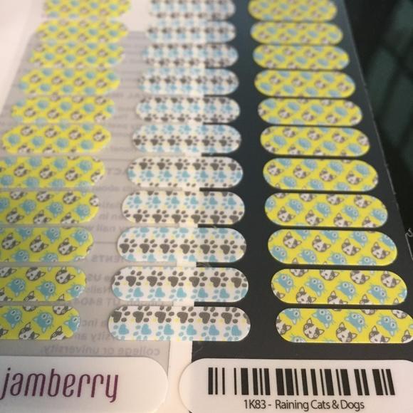 Jamberry Makeup Juniors Nail Wraps Raining Cats Dogs Poshmark